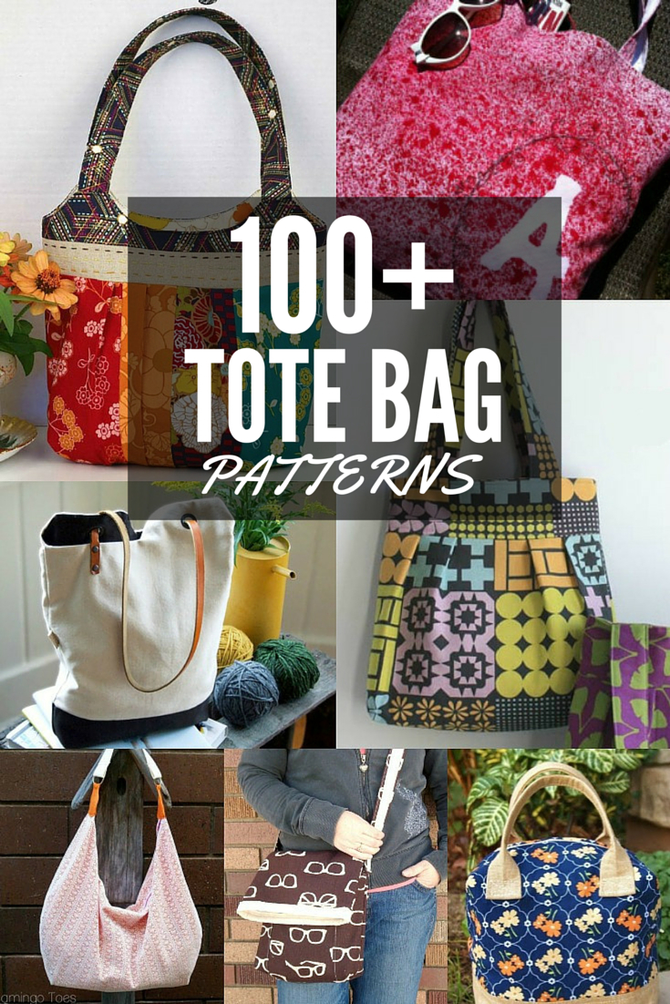 100+ Free Tote Bag Patterns   Round Up - The Sewing Loft - Free Printable Purse Patterns To Sew
