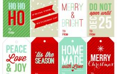Free Printable Holiday Gift Labels