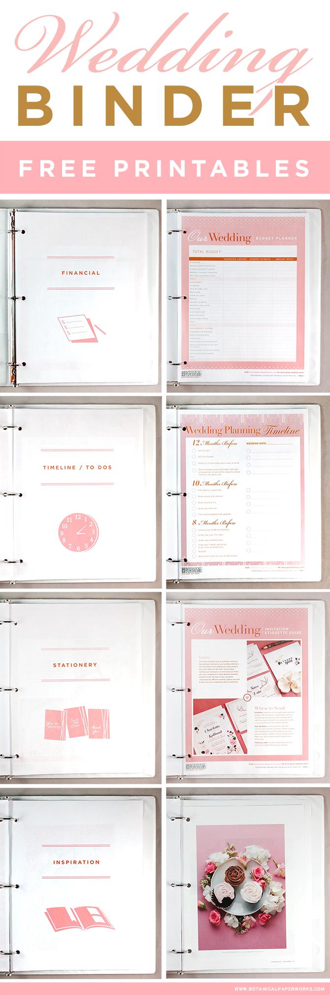 12 Ideas Wedding Planner Book Pdf On A Budget – Wedding Ideas - Free Printable Wedding Planner Book Pdf