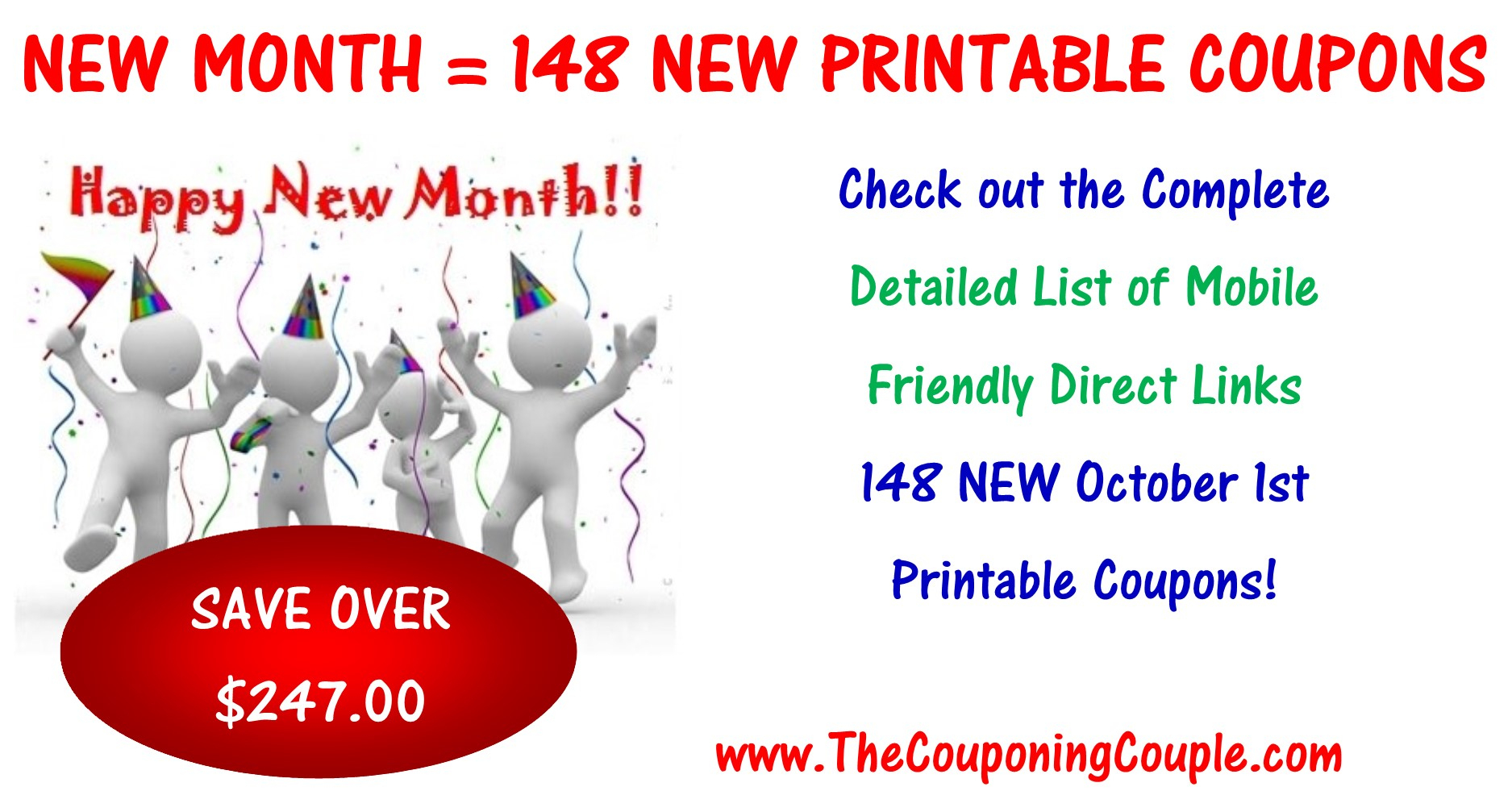 148 New Printable Coupons To Start October ~ Print Them Now! - Free Printable Chinet Coupons