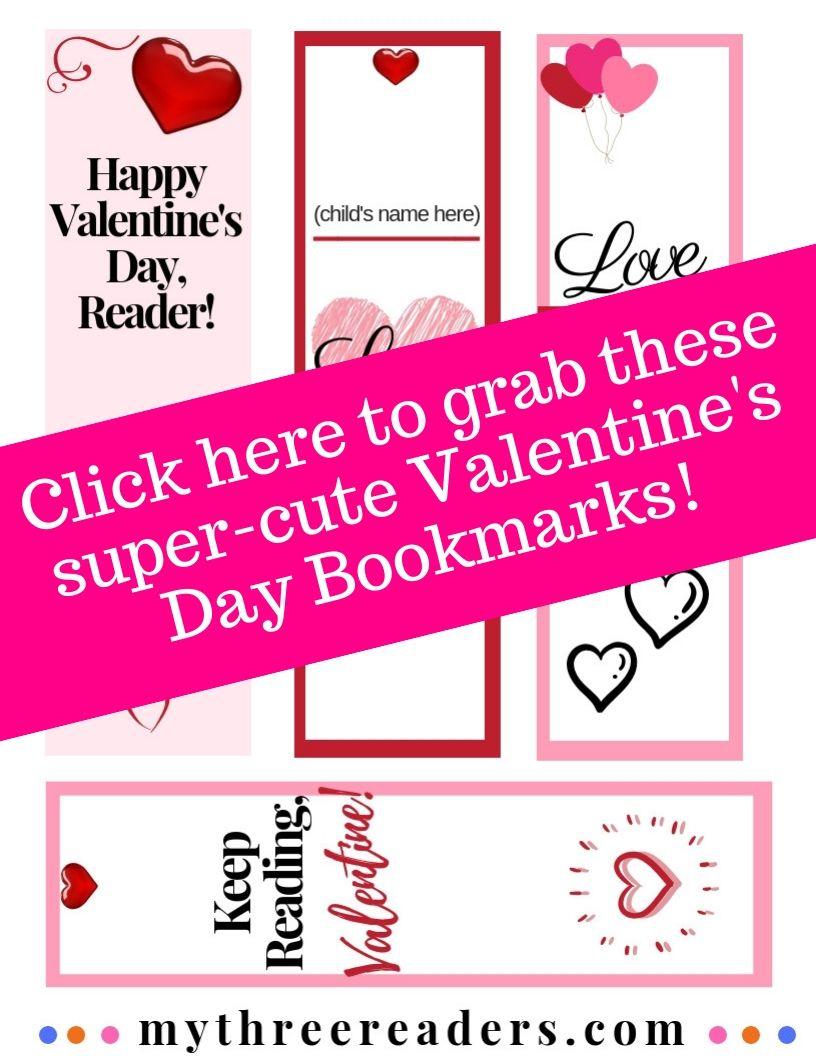 16 Free Printable Valentine's Bookmarks Perfect For Beginning - Free Printable Valentine Bookmarks