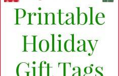 Free Printable Christmas Tags