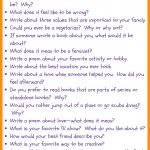 31 Fun Writing Prompts For Middle School ⋆ Journalbuddies   Free Printable Writing Prompts For Middle School