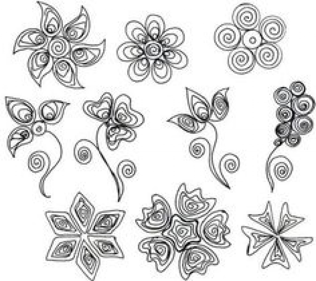 391 Best Quilling Patterns Images On Pinterest In 2018 | Quilling - Free Printable Quilling Patterns