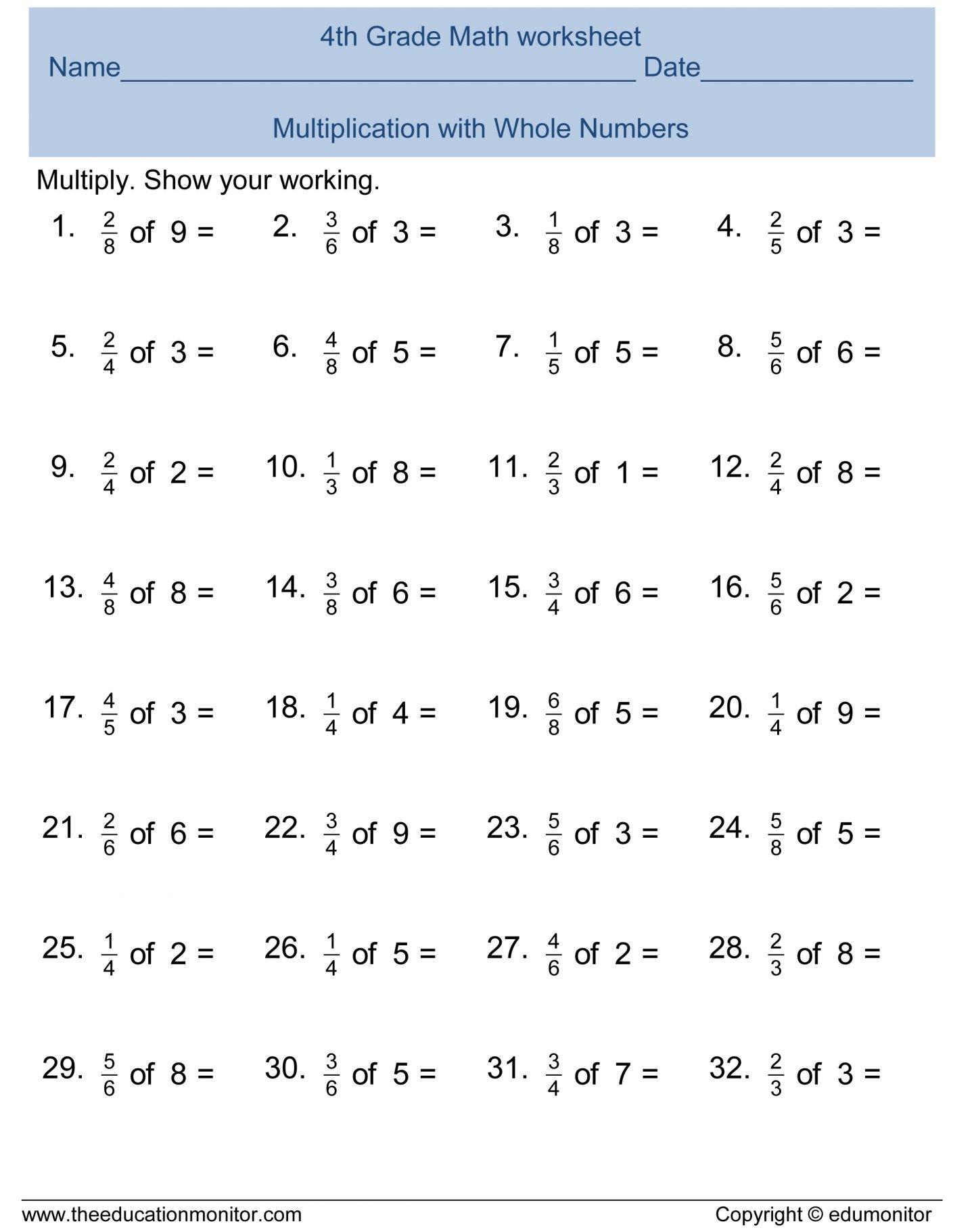 Sixth Grade Math Worksheets [ 1822 x 1440 Pixel ]