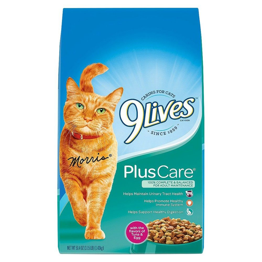 9Lives Plus Care Tuna & Eggs Dry Cat Food - 3.15Lbs | Cat Food, Dry - Free Printable 9 Lives Cat Food Coupons