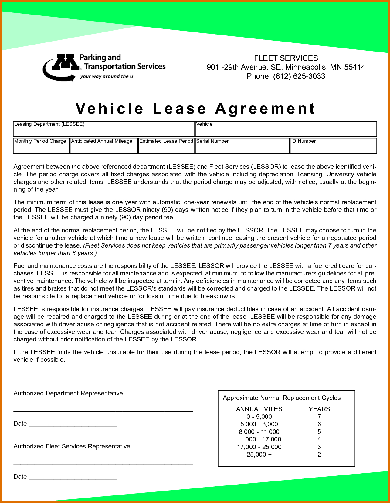 Agreement: Free Printable Vehicle Lease Agreement. Vehicle Lease - Free Printable Vehicle Lease Agreement