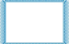 Free Printable Blank Certificate Templates