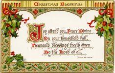 Free Printable Vintage Christmas Clip Art