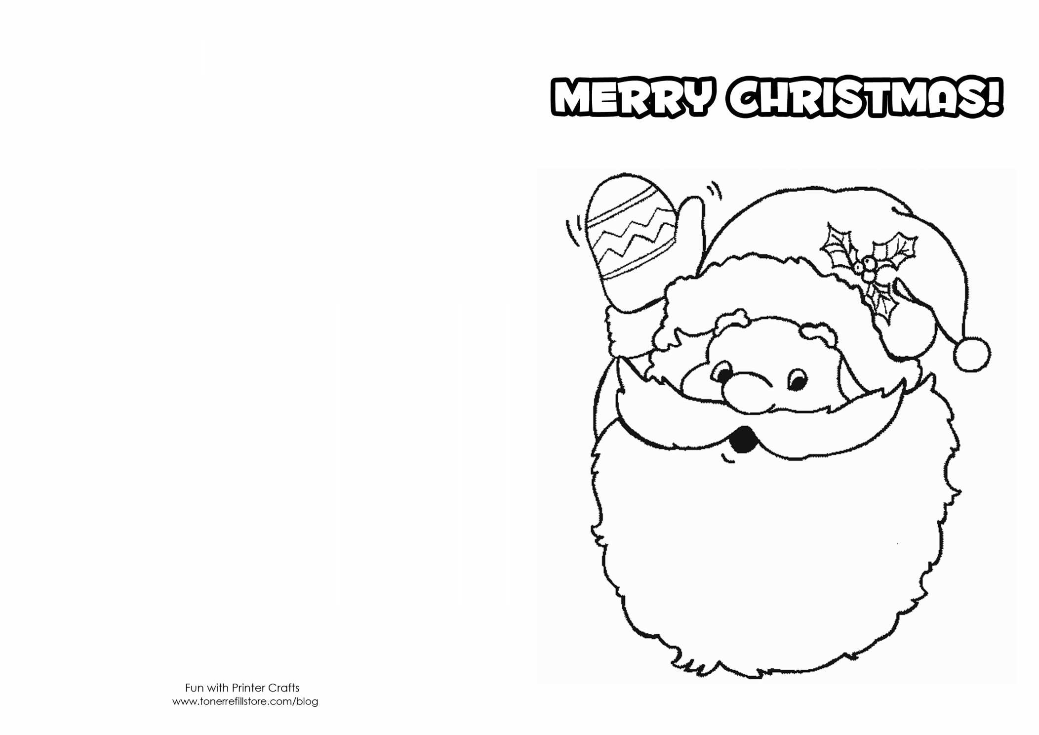 Click The Victorian Christmas Card Coloring Pages To View Printable - Free Printable Christmas Cards To Color