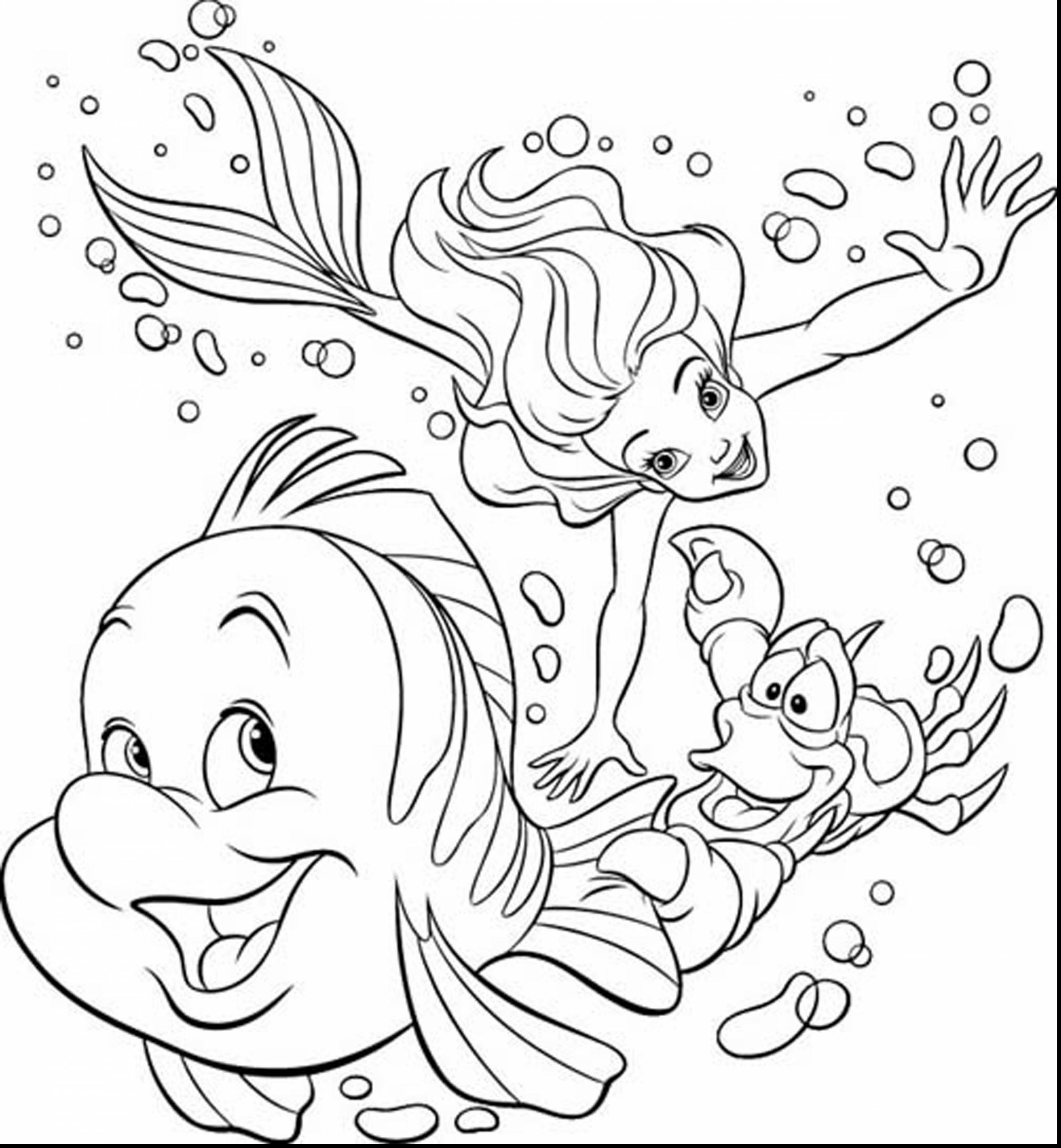 Coloring Pages : Freerint Coloringages Disney Arielfree To Castle - Free Printable Disney Coloring Pages