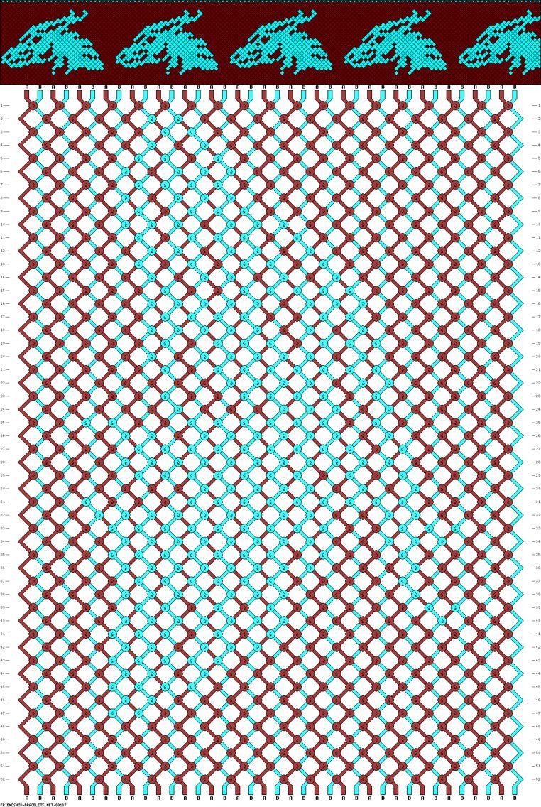 картинки для плетения фенечки спустя несколько