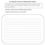 Englishlinx | Writing Prompts Worksheets   Free Printable Writing Prompts For Middle School