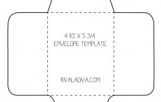 Envelope Template | Envelope Template For 8.5 X 11 Paper Diy – Free Printable Envelope Size 10 Template