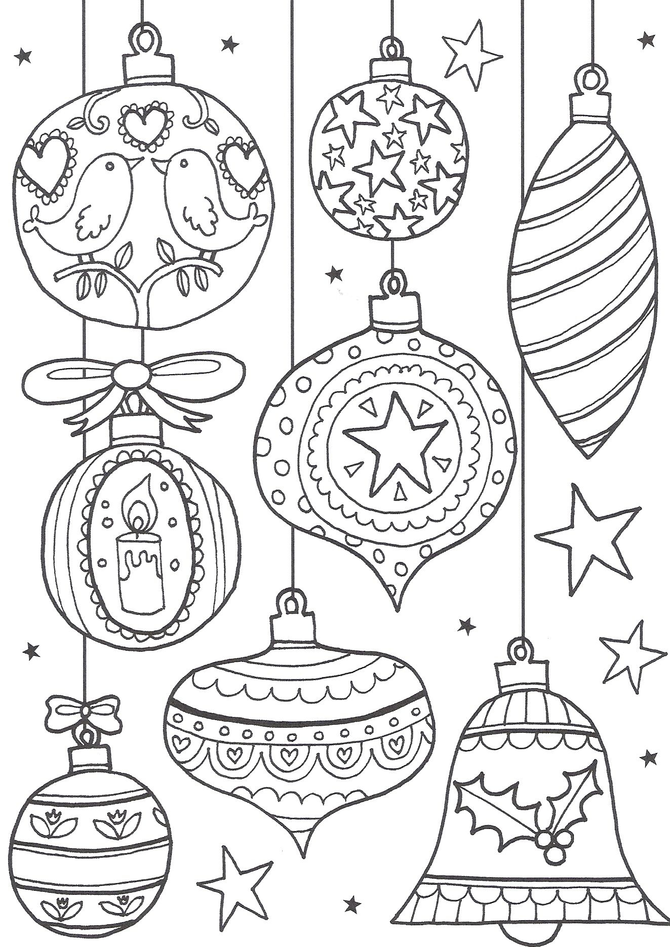 Free Christmas Colouring Pages For Adults – The Ultimate Roundup - Free Printable Christmas Coloring Pages And Activities