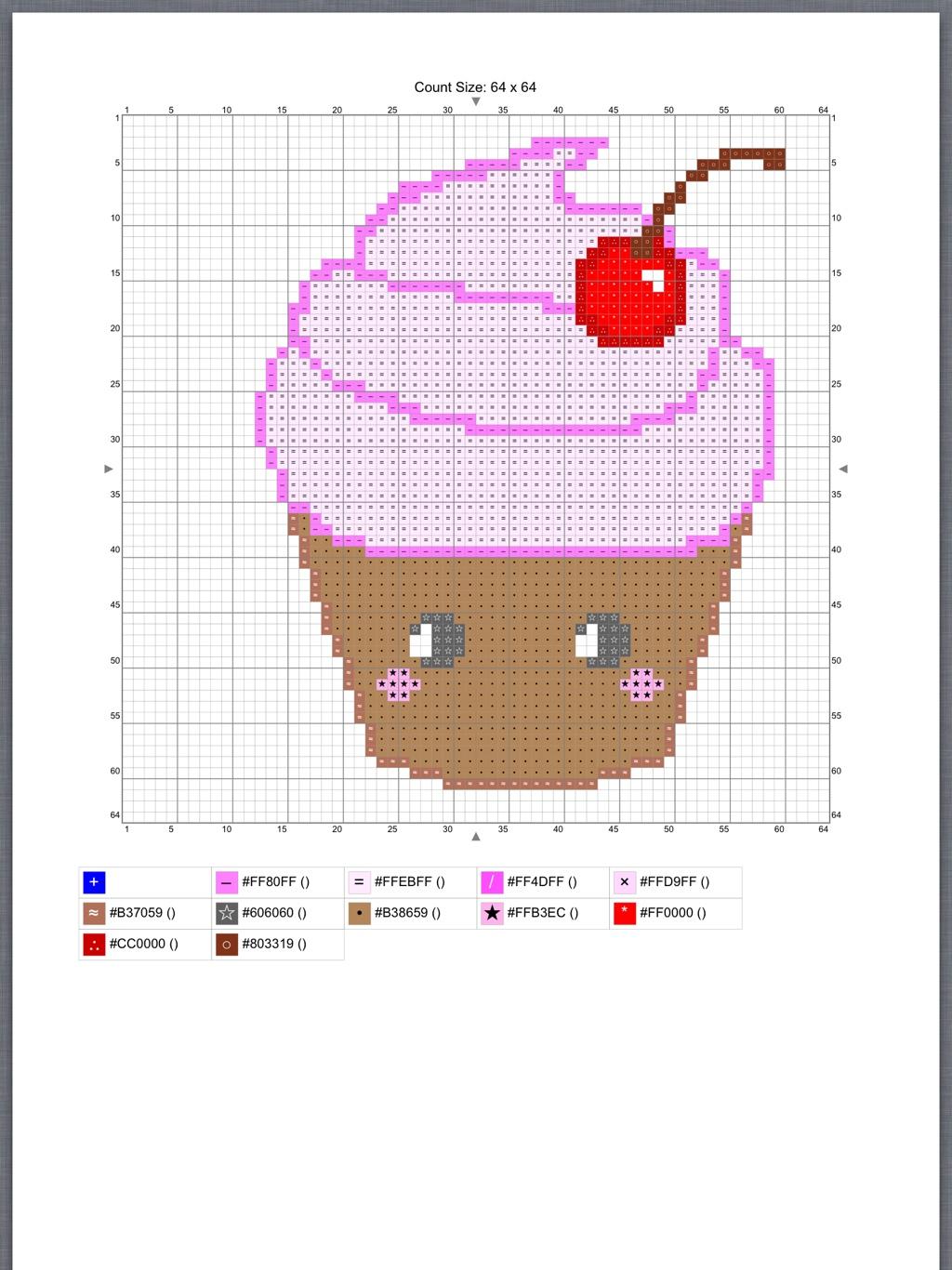 Free Cross Stitch Pattern | Kawaiiblythe - Free Printable Cross Patterns