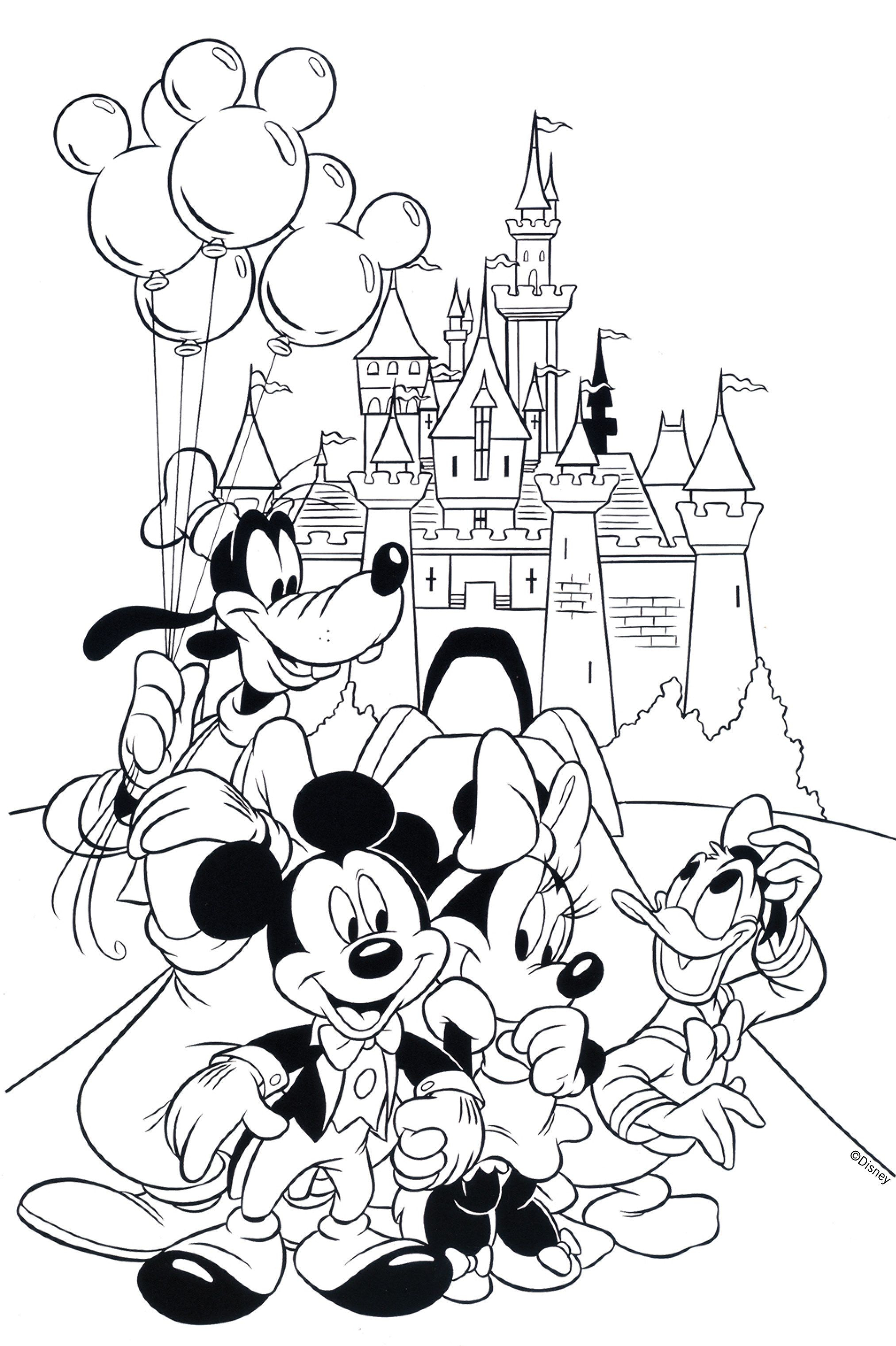Free Disney Coloring Pages | Coloring Books | Pinterest | Coloring - Free Printable Disney Coloring Pages