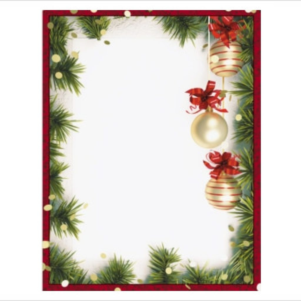 Free Holiday Border | Free Clipart Download - Free Printable Christmas Borders