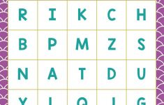 Free Printable Alphabet Cards With Pictures