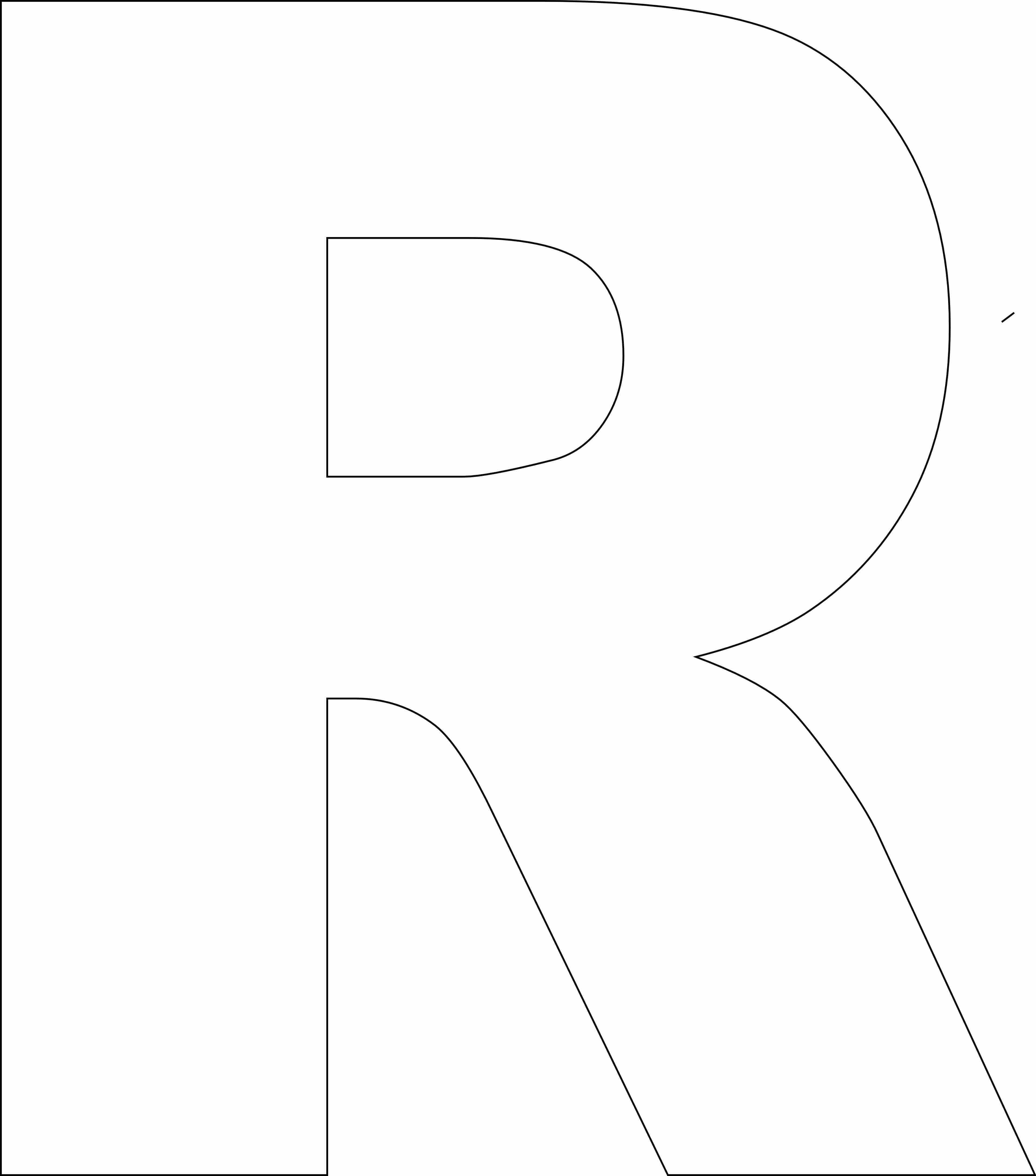 Free Printable Alphabet Template Upper Case - Free Printable Letter Stencils