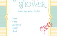 Free Printable Baby Registry Cards
