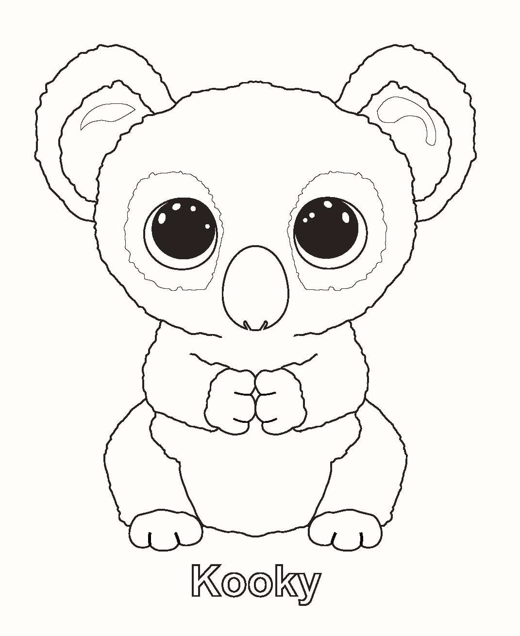 Free Printable Beanie Boo Coloring Pages Beautiful Beanie Boo - Free Printable Beanie Boo Coloring Pages