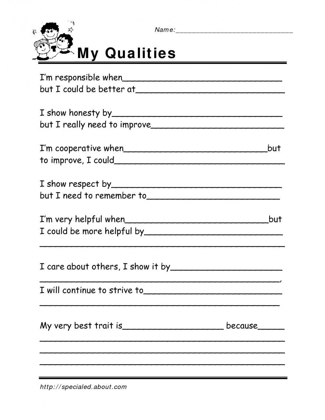 Free Printable Coping Skills Worksheets   Lostranquillos - Free Printable Coping Skills Worksheets For Adults