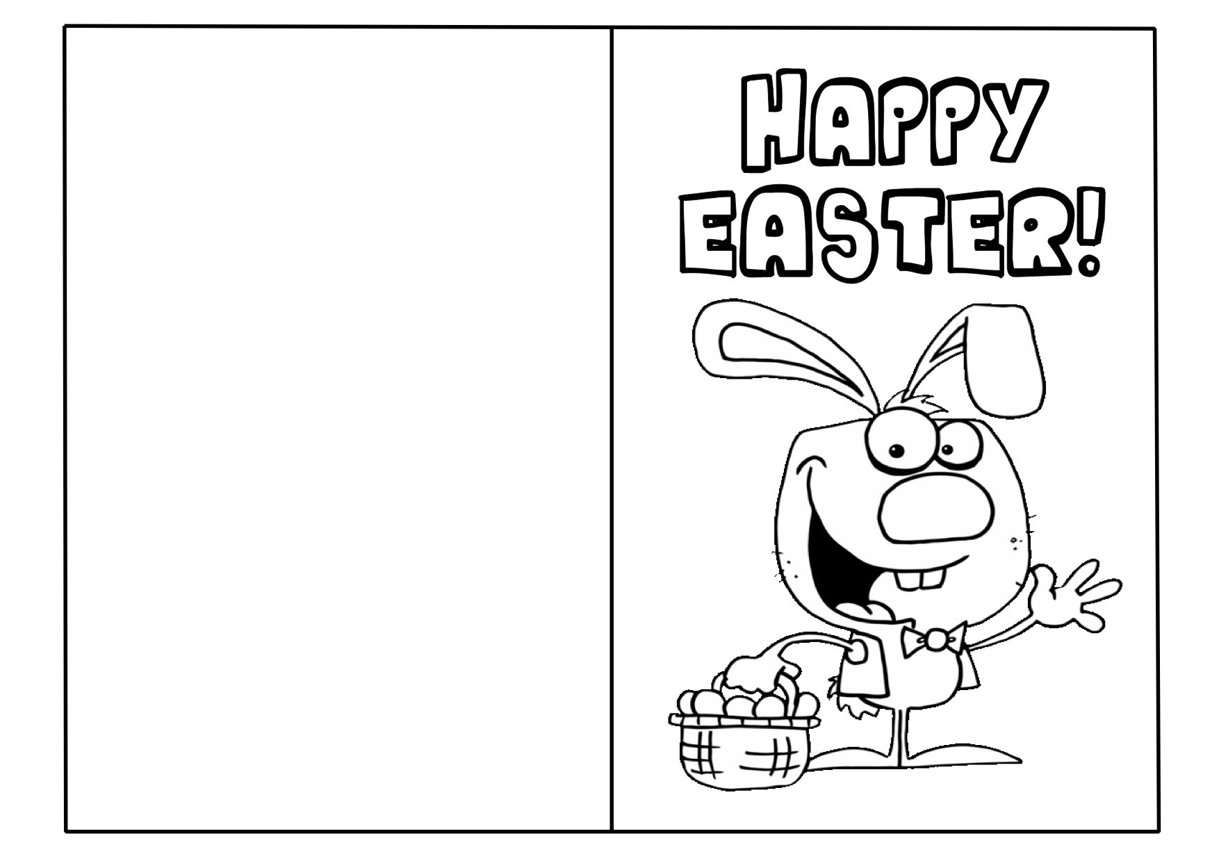 Free Printable Easter Cards Templates – Hd Easter Images - Free Printable Easter Cards For Grandchildren