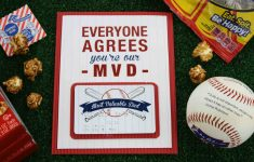 Free Printable Baseball Stationery