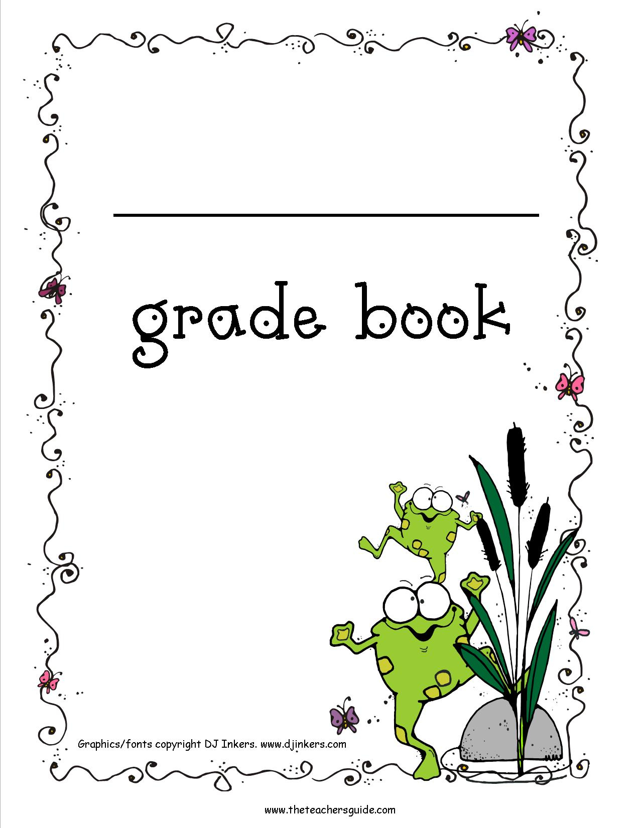 Free Printable Grade Books - Free Printable Books