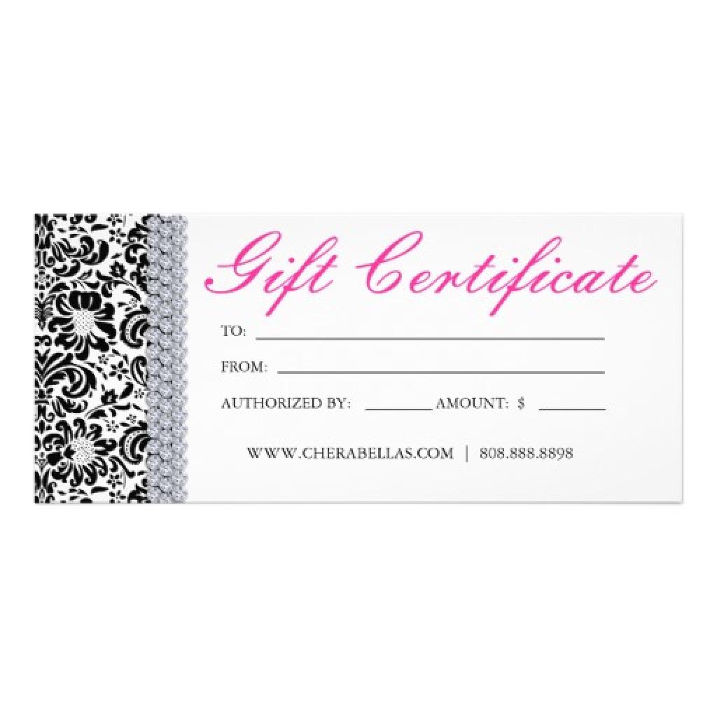 Free Printable Hair Salon Gift Certificate Template New Printable - Free Printable Gift Certificates For Hair Salon