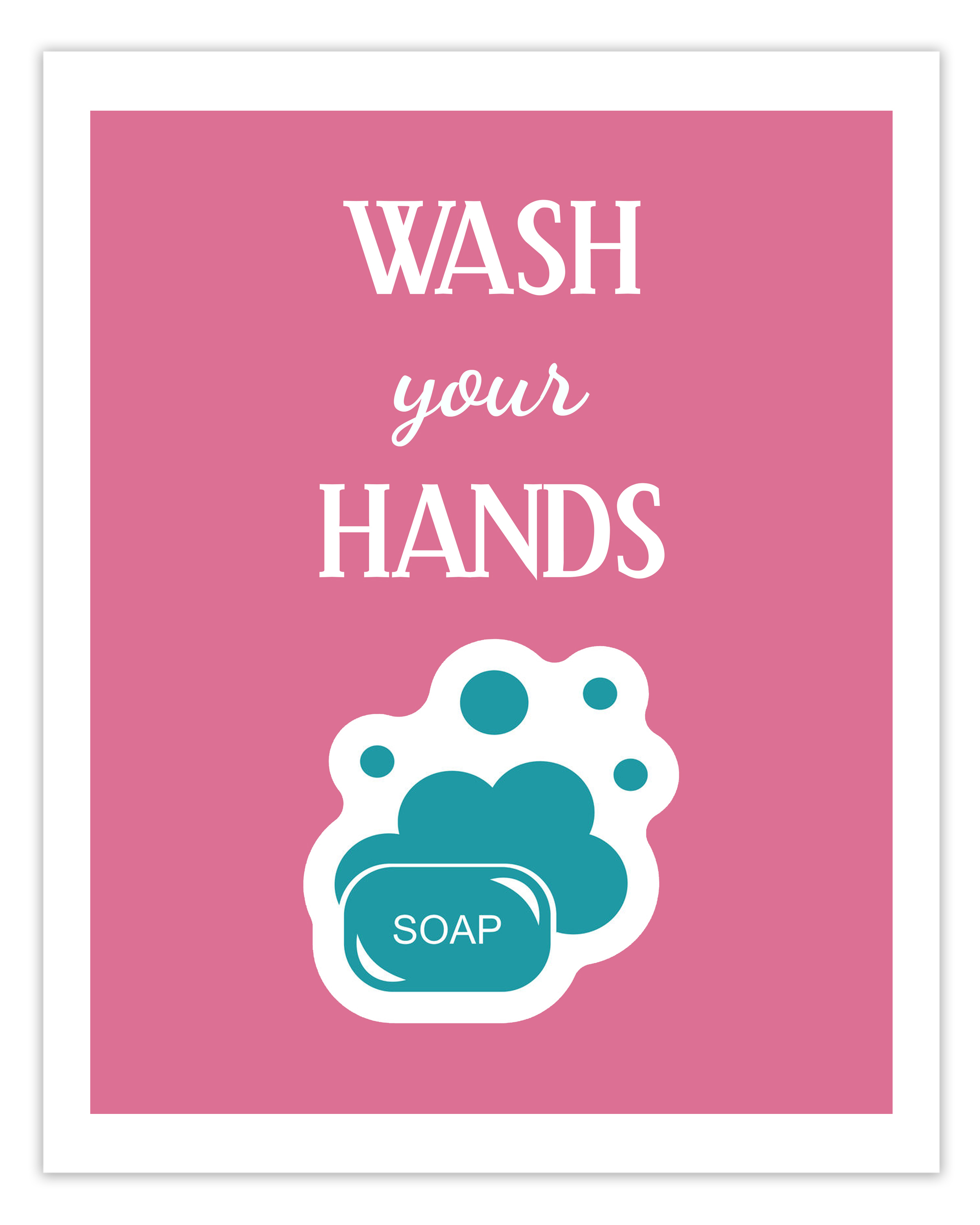 Free Printable Hand Washing Sign For Children - 12.17.ybonlineacess.de • - Osha Signs Free Printable
