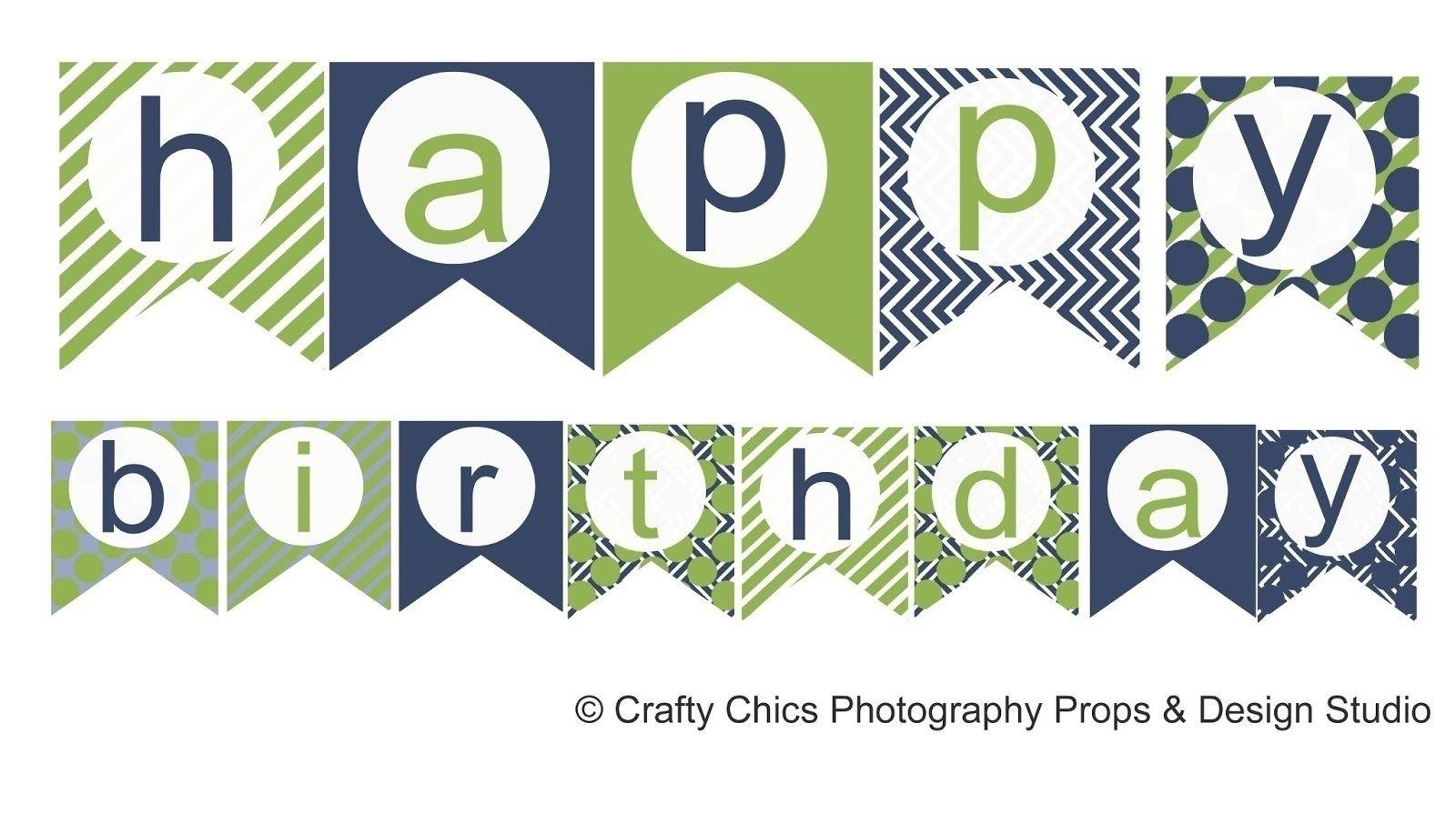 Free Printable Happy Birthday Banner Templates | Bestprintable231118 - Birthday Banner Templates Free Printable