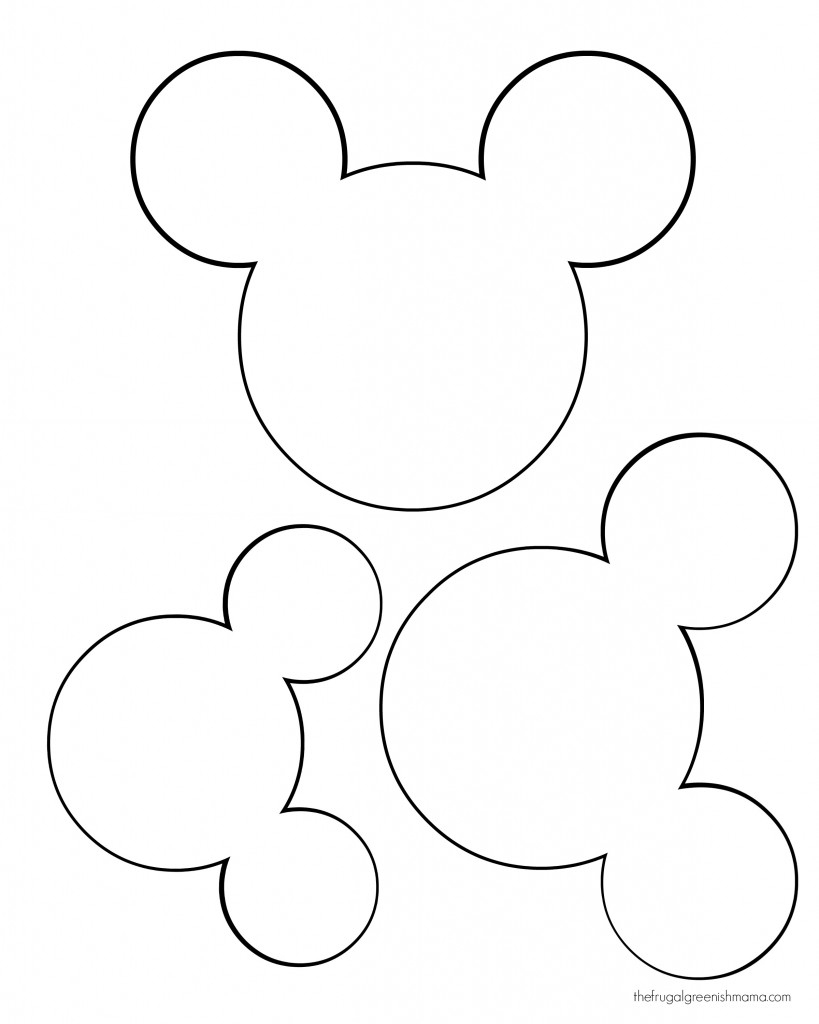 Free Printable Mickey Mouse Head, Download Free Clip Art, Free Clip - Free Printable Mickey Mouse Head