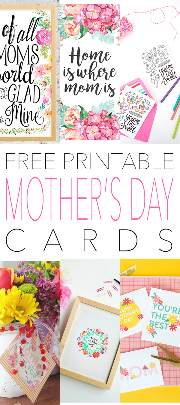 Free Printable Mother's Day Cards | Diy | Pinterest | Mothers Day - Free Printable Funny Mother's Day Cards