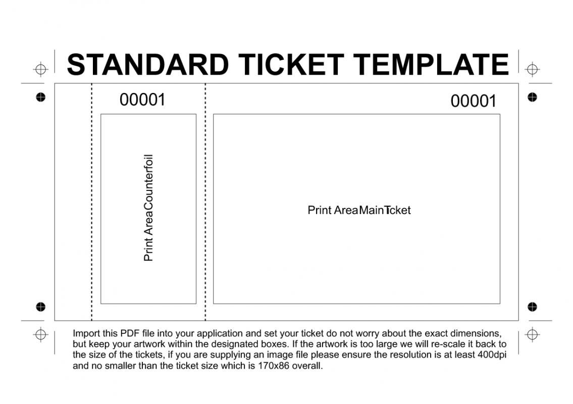 Free Printable Raffle Tickets Template | Template | Ticket Template - Free Printable Raffle Tickets