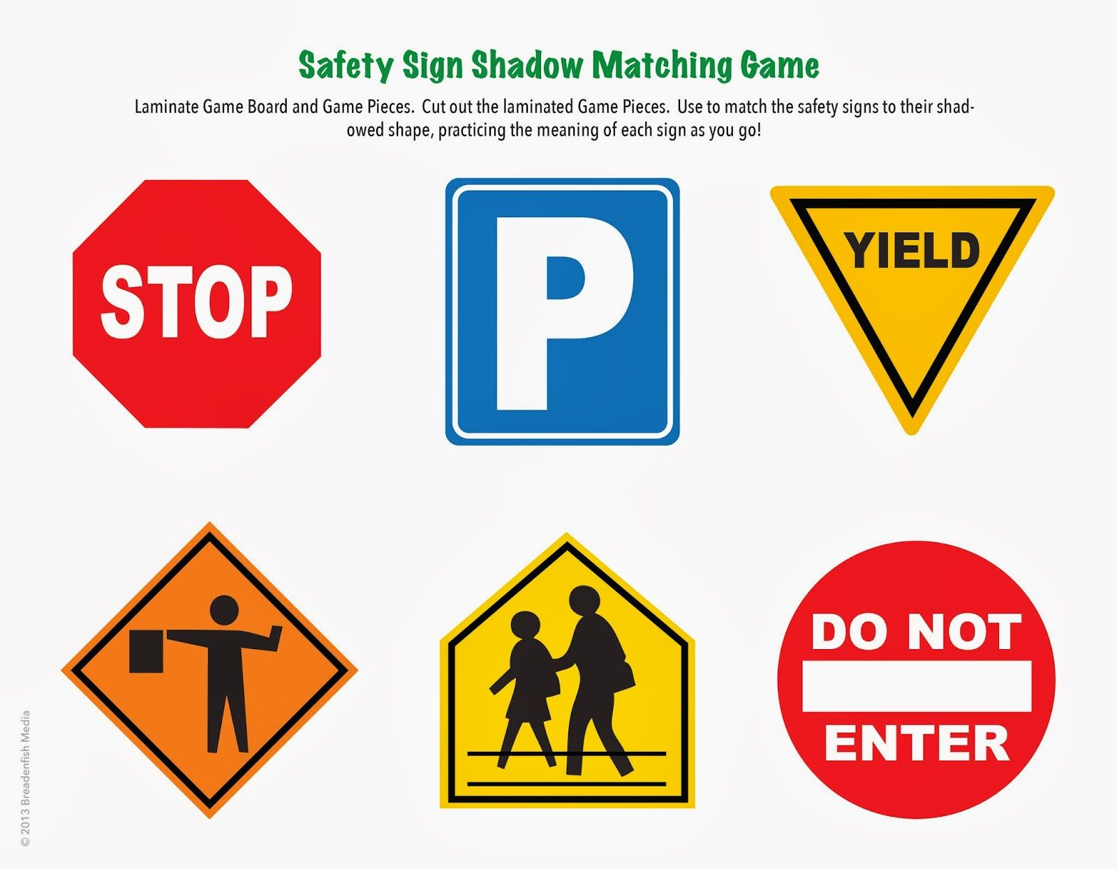 Free Printable Safety Signs Check Out This Exciting Board Game For - Free Printable Safety Signs