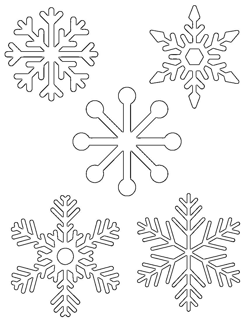 Free Printable Snowflake Templates …   Christmas Projects   Pinte… - Free Printable Snowflakes