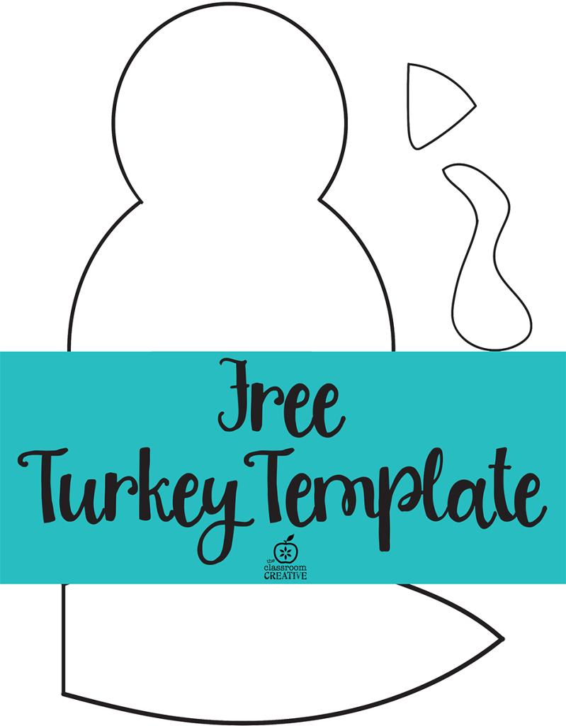 Free Printable Turkey Craft