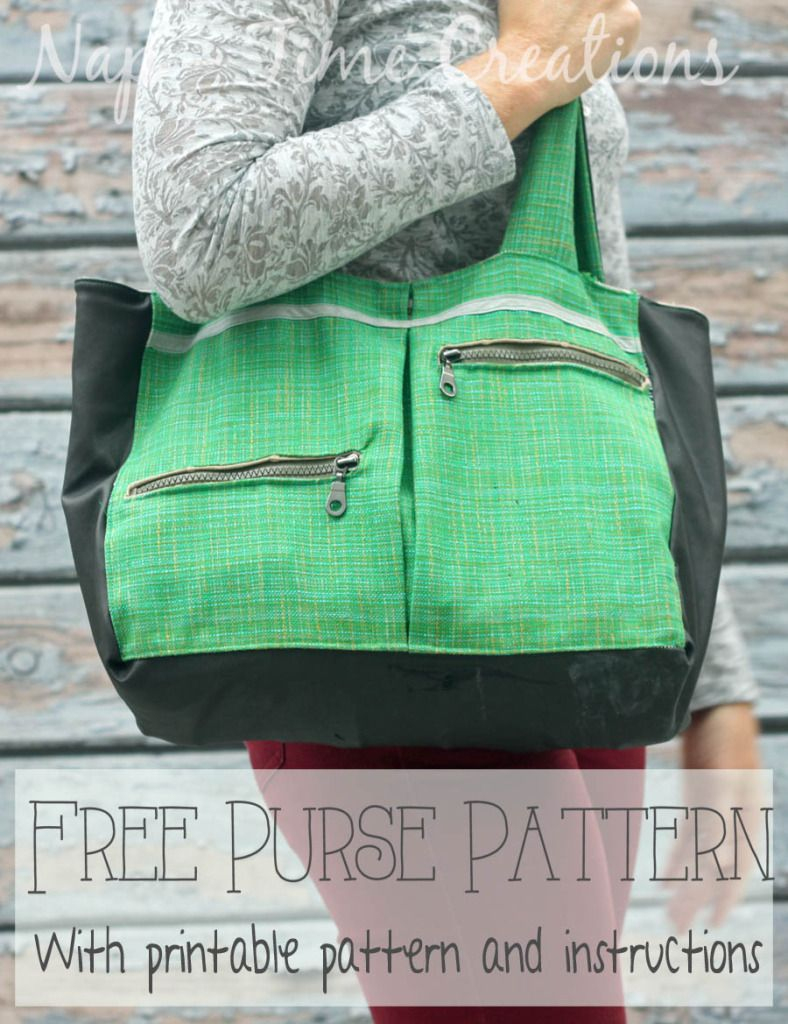 Free Purse Pattern With Pockets On Nap-Time Creations   Fashion - Free Printable Purse Patterns To Sew