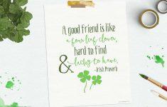 Free Printable St Patricks Day Stationery
