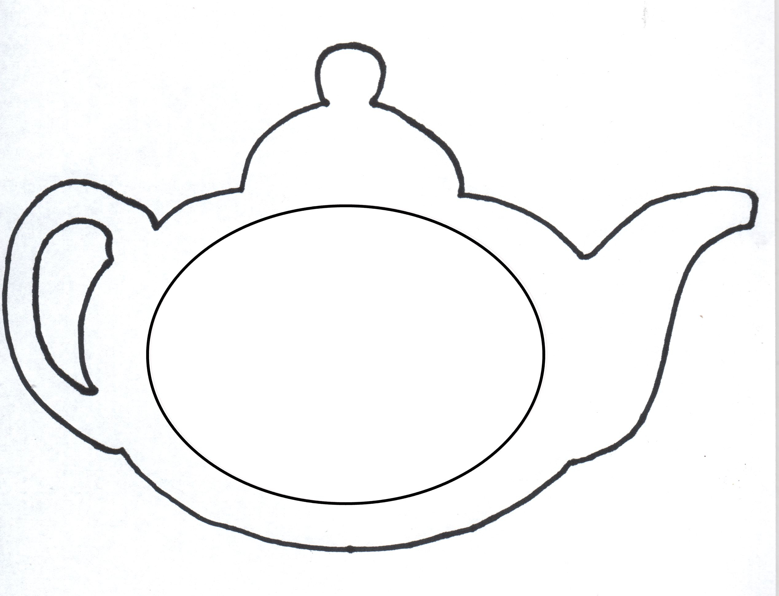 Free Teapot Coloring Book, Download Free Clip Art, Free Clip Art On - Free Printable Tea Cup Coloring Pages
