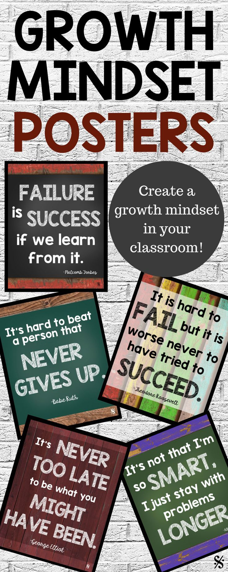 Growth Mindset Posters | Band Resources & Free Downloads For Band - Free Printable Music Posters