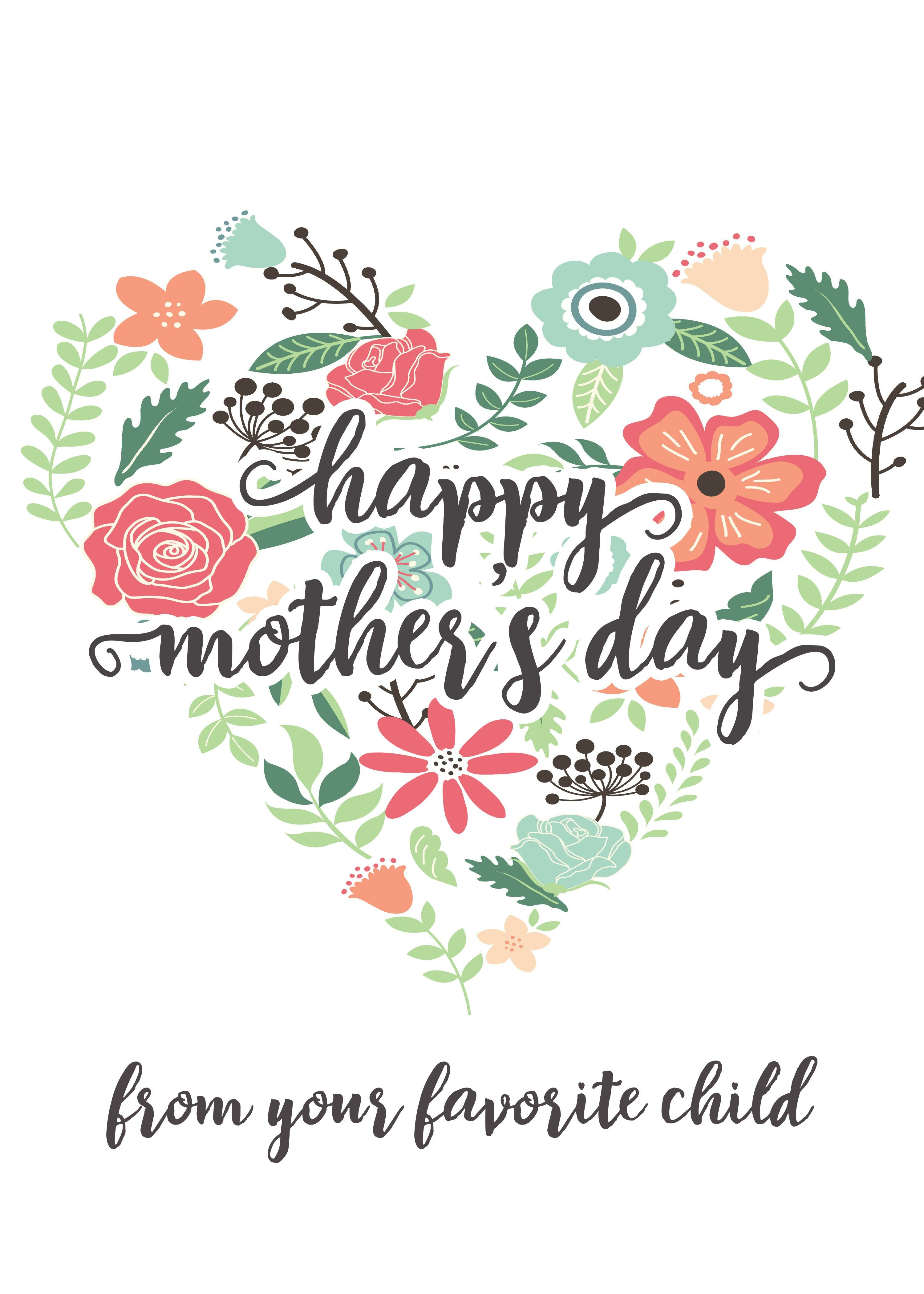 Happy Mothers Day Messages Free Printable Mothers Day Cards - Free Printable Mothers Day Cards From The Dog