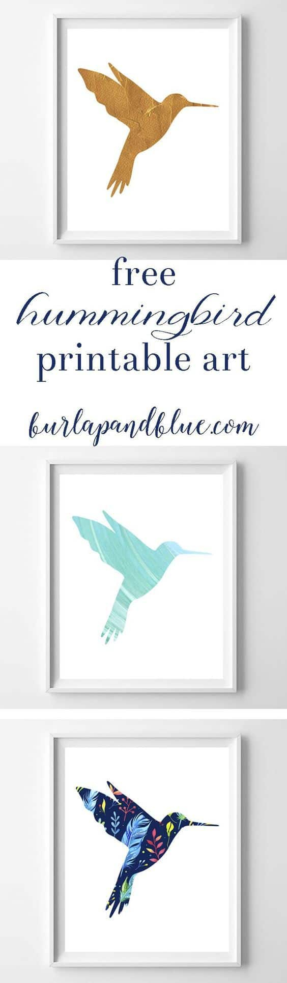 Hummingbird Art {3 Free Printable Designs} - Free Printable Pictures Of Hummingbirds