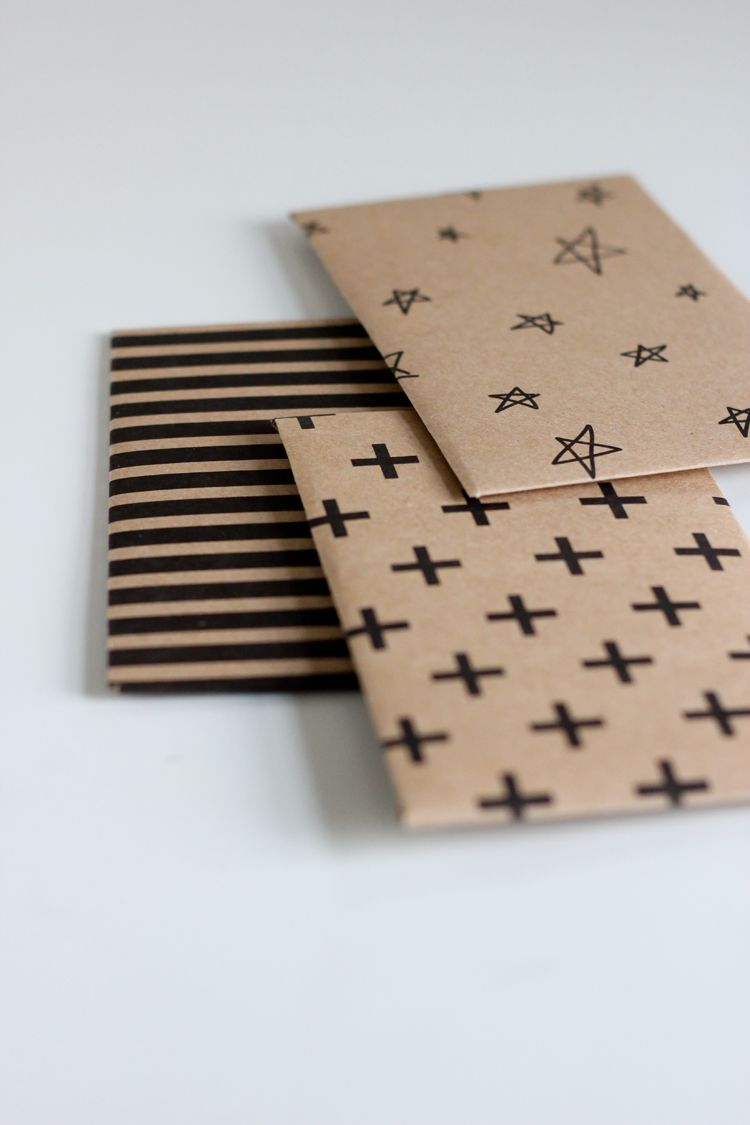 Kraft Paper Gift Card Envelope Free Printable | Crafty | Pinterest - Free Printable Gift Card Envelope Template