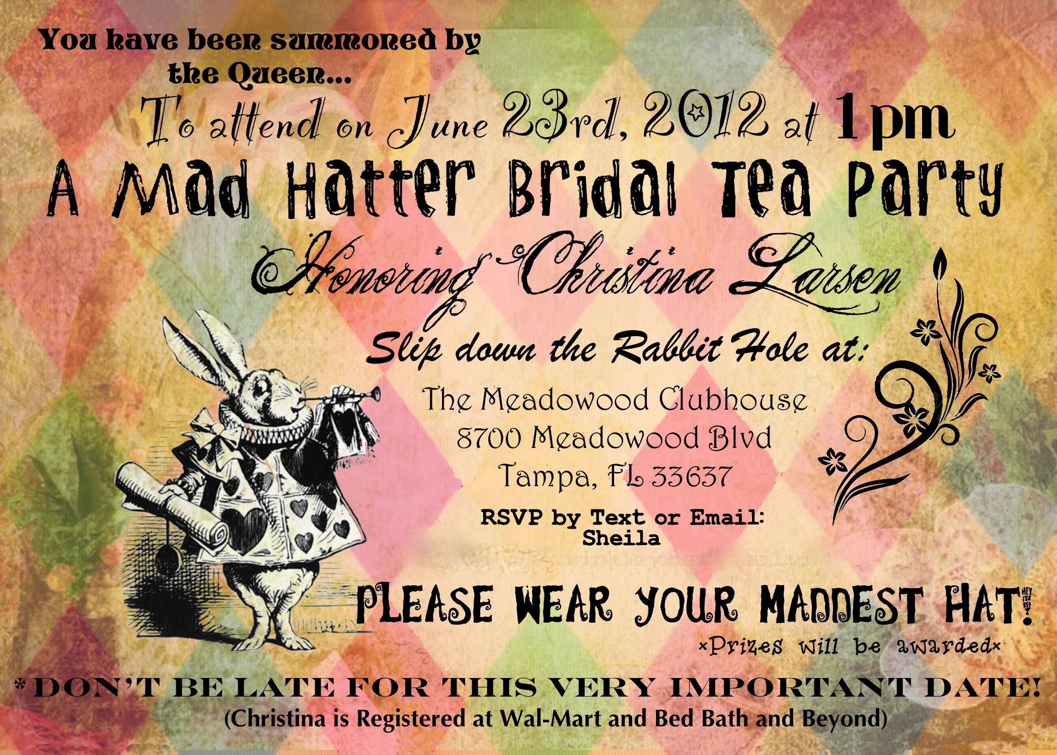 Mad Hatter Tea Party Invitations Mad Hatter Tea Party Invitations - Mad Hatter Tea Party Invitations Free Printable