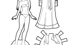 Medieval Fantasy Princess Paper Doll To Print In Color Or Black And – Medieval Paper Dolls Free Printable