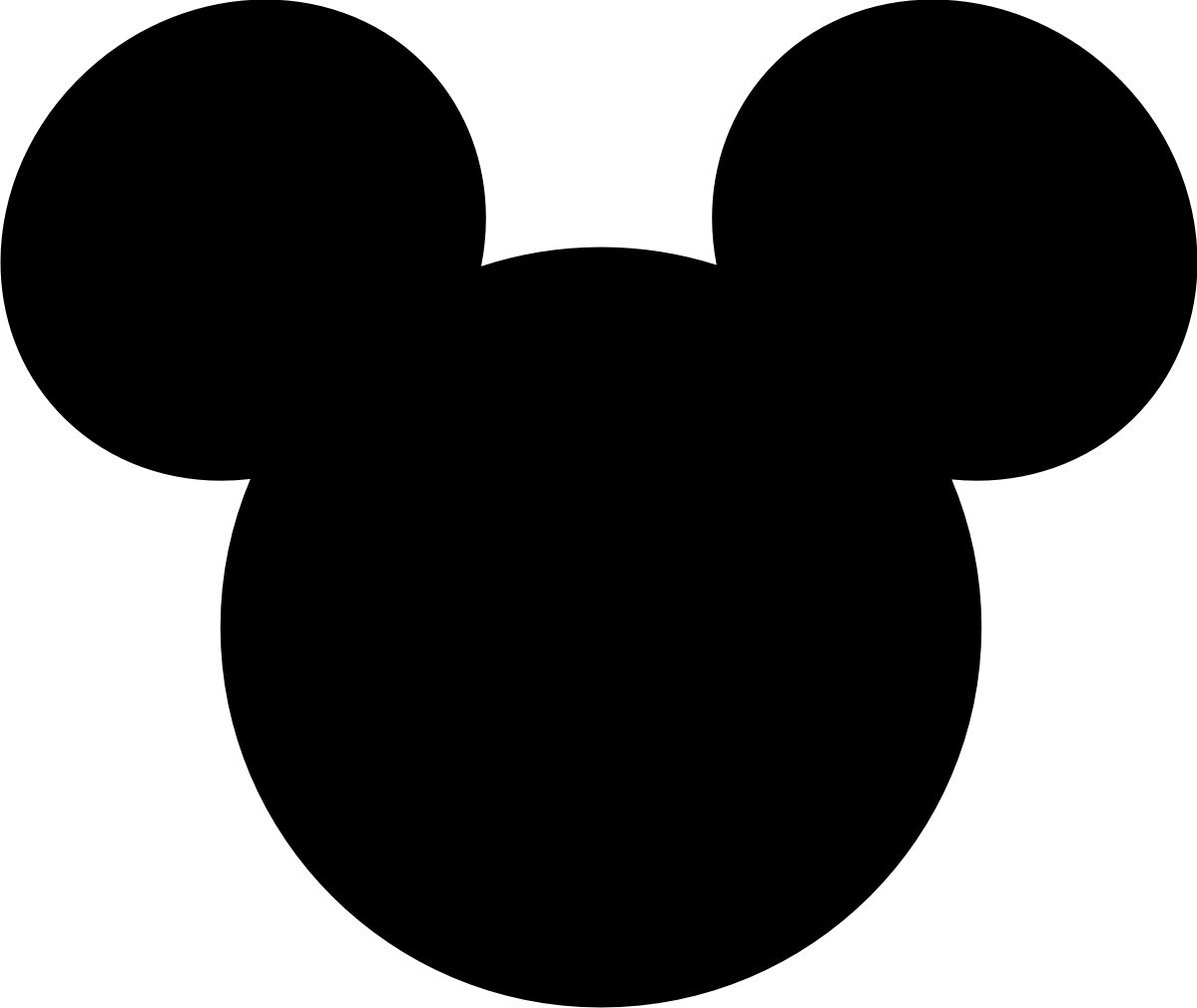 Mickey Mouse Large Printable Cutouts | Can You Guess Where We Are - Free Printable Mickey Mouse Head