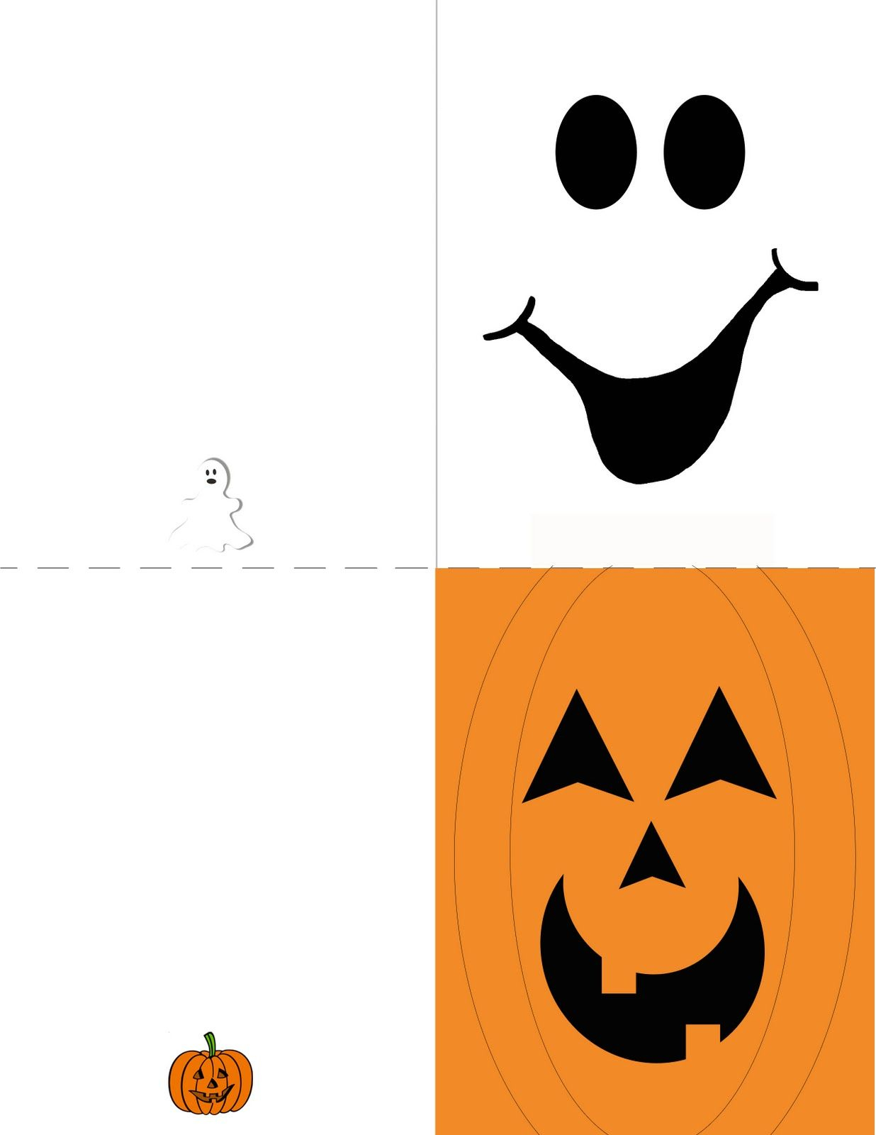 Obsessively Crafting: Free Printables | Halloween Cards And - Free Printable Halloween Cards